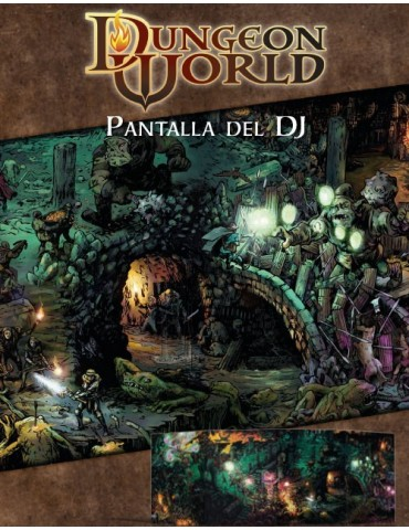 Dungeon World: Pantalla del...