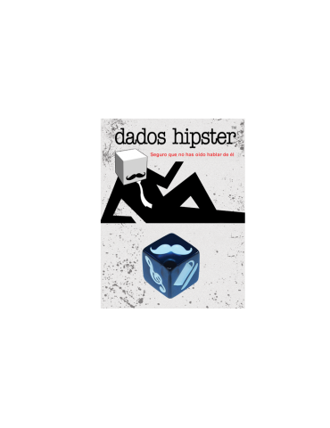 Dados Hipster: Denim Crujiente