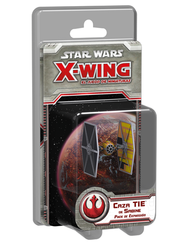 Star Wars X-Wing: Caza TIE...