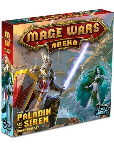 Mage Wars Arena: Paladin vs...