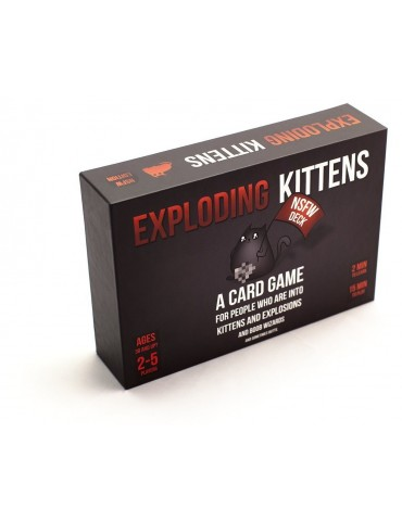 Exploding Kittens: NSFW...