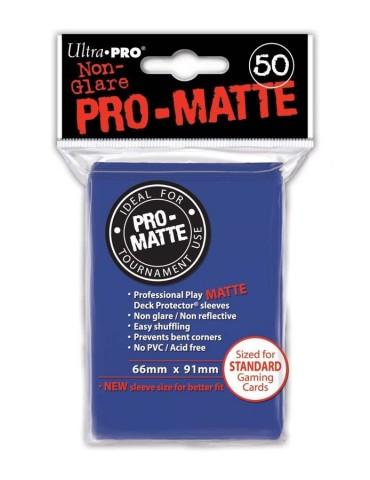 Fundas Ultra Pro mate azul...