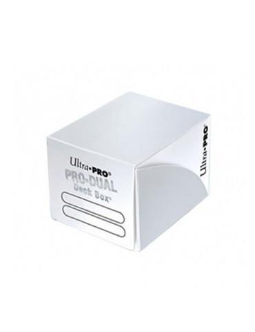 Deck Box Ultra Pro Dual Blanca