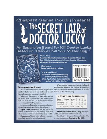 Kill Doctor Lucky: The...