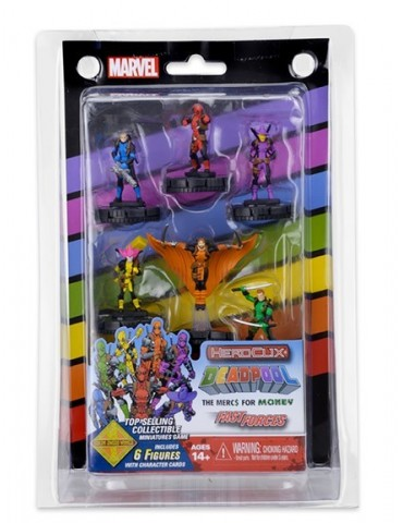 Marvel HeroClix: Mercs 4...