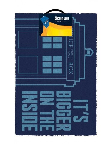 Felpudo Doctor Who: Tardis...