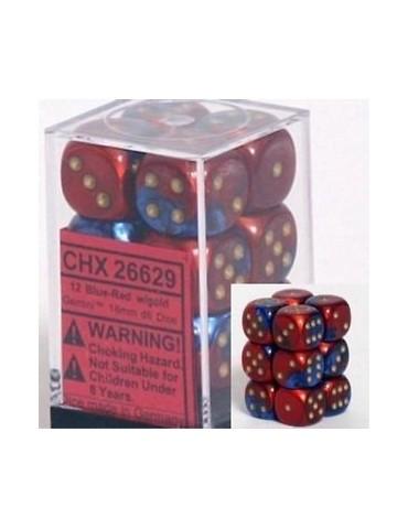 Caja de 12 dados Chessex de...