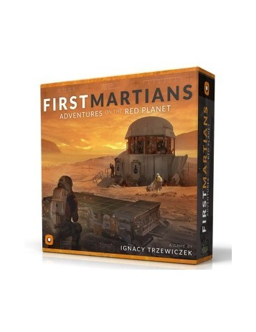 First Martians: Adventures...
