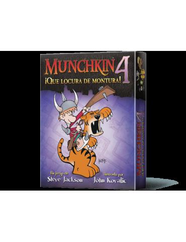 Munchkin 4: ¡Qué locura de...