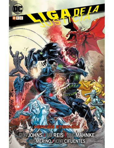 Liga de la Justicia: Héroes...