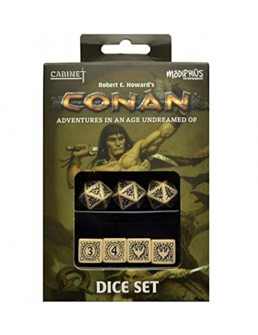 Conan RPG Player's Dice Set