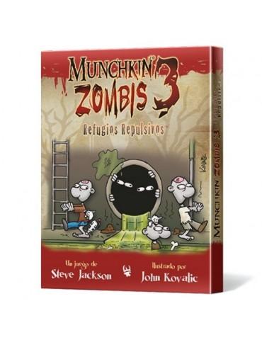 Munchkin Zombis 3: Refugios...