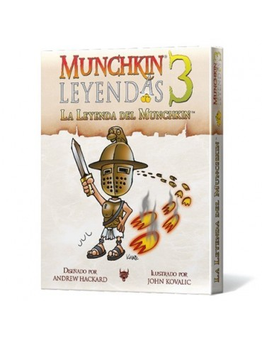 Munchkin Leyendas 3: La...