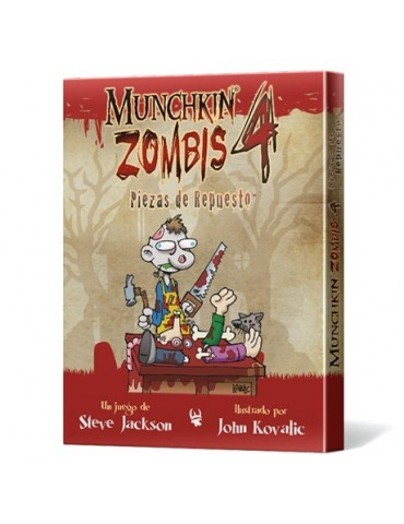 Munchkin Zombis 4: Piezas...