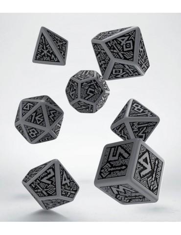 Set de dados Dwarven gris y...