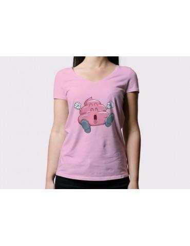 Camiseta Dr. Slump Rosa...