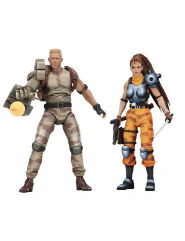 Pack de 2 Figuras Alien vs....