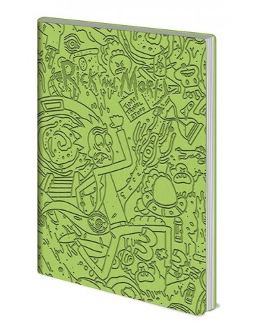 Libreta Rick & Morty...