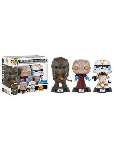 Pack de 3 Figuras Pop Star...