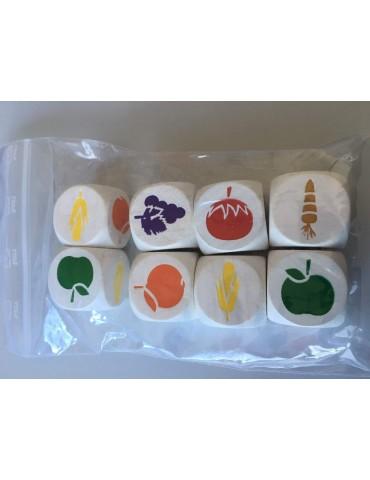 Set Dados Frutas