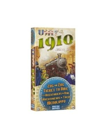 Aventureros al Tren! USA 1910