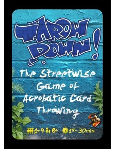 Throw Down! - Card Game: Blue
