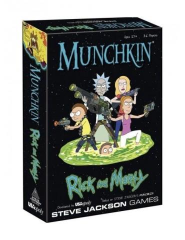 Munchkin Rick & Morty (Inglés)