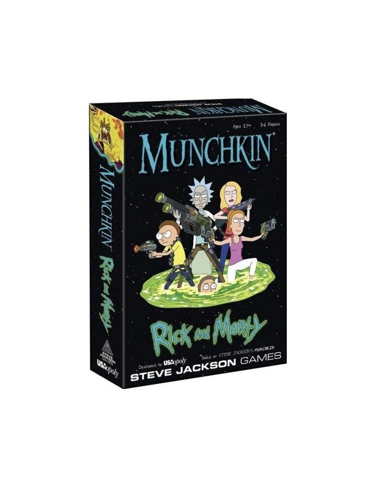 Comprar Munchkin Juego De Cartas Rick Y Morty Inglés