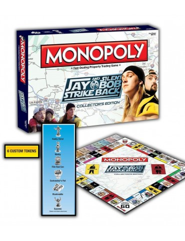 Monopoly Jay y Bob el...