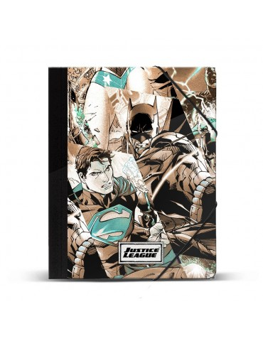 Justice League Carpeta Gomas