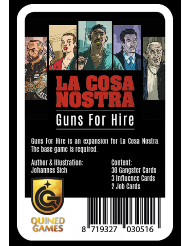 La Cosa Nostra: Guns for...