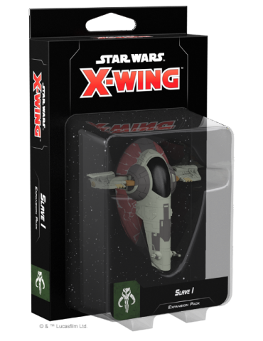Star Wars X-Wing : Slave I...