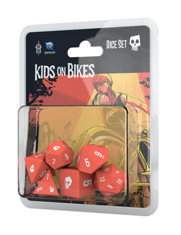Kids on Bikes RPG: Dice Set