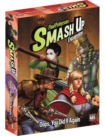 Smash Up: Oops, You Did It...