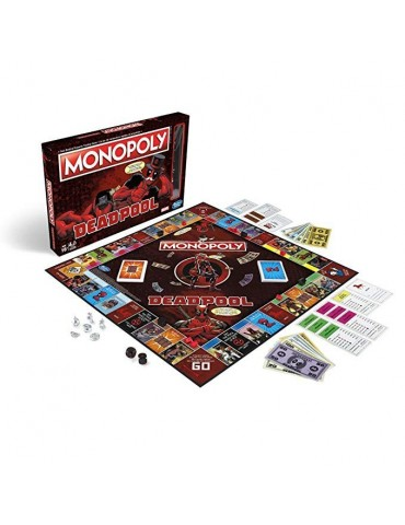 Monopoly Deadpool (Castellano)