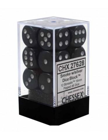 Bloque de 12 dados Chessex...