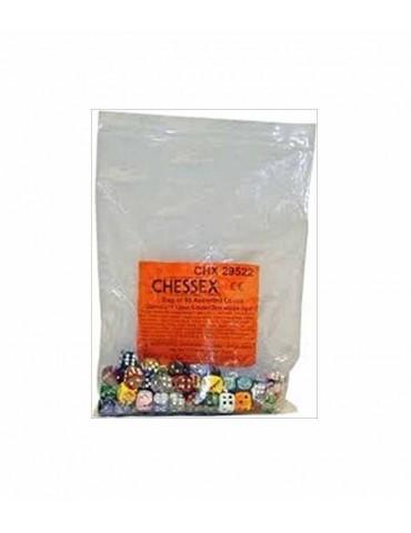 Bolsa de 50 dados Chessex...