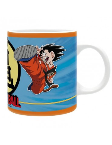 Taza Dragon Ball Goku & Krilin