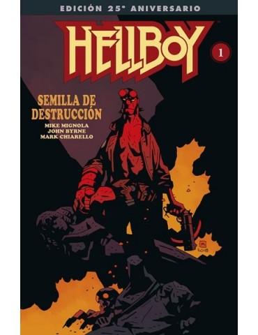 Hellboy: Semilla de...