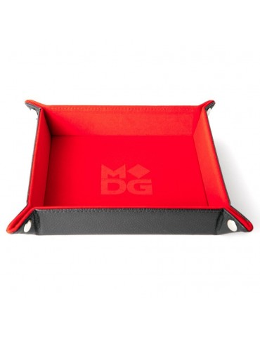Dice Tray Velvet Red