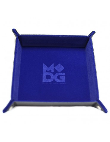 Dice Tray Velvet Blue