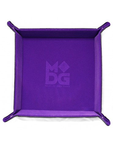 Dice Tray Velvet Purple