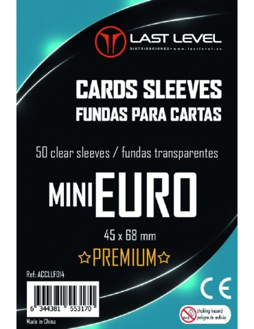 Fundas Last Level Mini Euro...