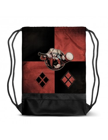 Bolsa Saco Harley Quinn -...