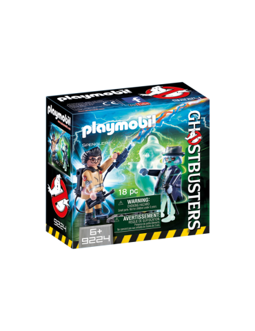 Playmobil: Spengler y Fantasma