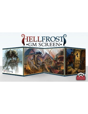 Hellfrost: GM Screen and...