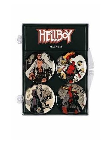 Set de 4 Imanes Hellboy:...