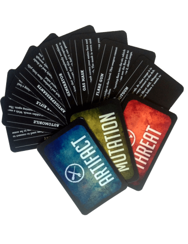 Mutant: Year Zero Card Deck...