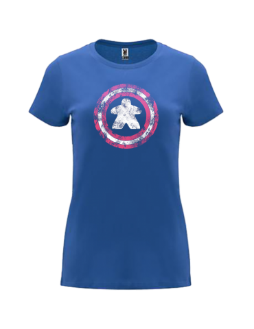 Camiseta Mujer Capitán Meeple