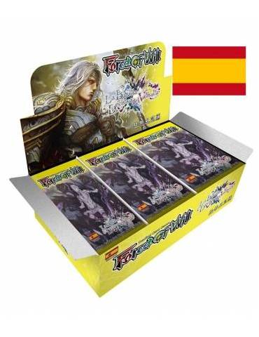 Force of Will: La Batalla Decisiva del Valhalla - Display de 36 sobres + Promo Odin
